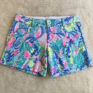 Lilly Pulitzer The Callahan Shorts Stretch Size 00